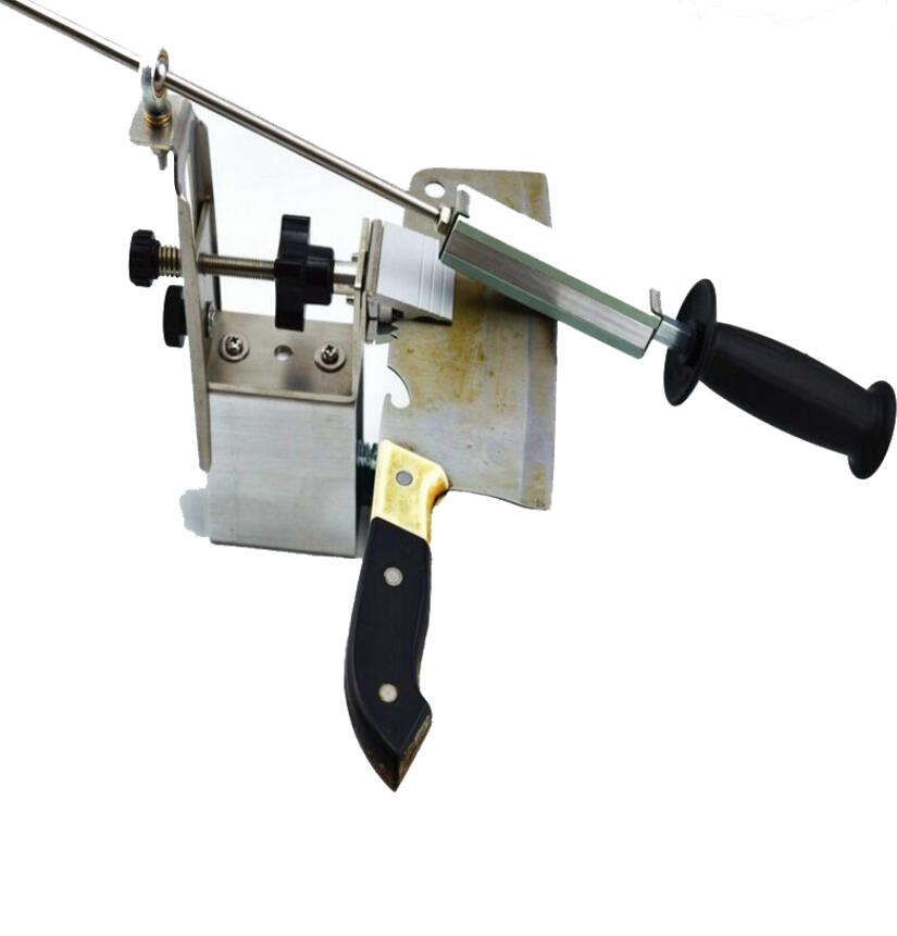 2015 Newest china No.1 Portable 360 Degree Rotation Fixed angle Apex edge knife sharpener 3 whetstone