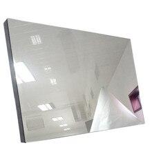 Obeytec Зеркальное стекло для волшебного зеркала, работа с интерактивной сенсорной пленкой, прозрачная сенсорная фольга, по индивидуальному заказу