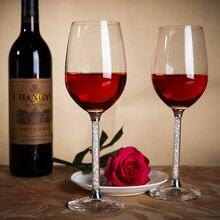 Высококачественный бессвинцовый хрустальный бокал для вина с