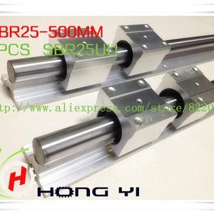 2 X SBR25 500mm Linear Bearing