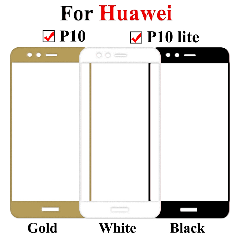 Image 3 - 9H Protective Glass For Huawei P10 Lite Plus P10 Tempered Glass for P10lite P10Plus Huawei p10 p 10lite Screen Protector Film-in Phone Screen Protectors from Cellphones & Telecommunications
