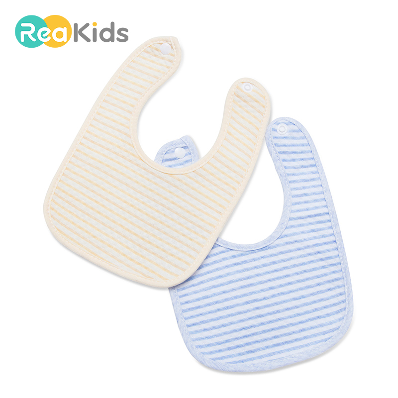 REAKIDS Baby Bibs For Boy&Girl Bandana Bib Burp Cloth Print Triangle Cotton Baby Bandana Bibs Meal Collar Burp Baby Accessories