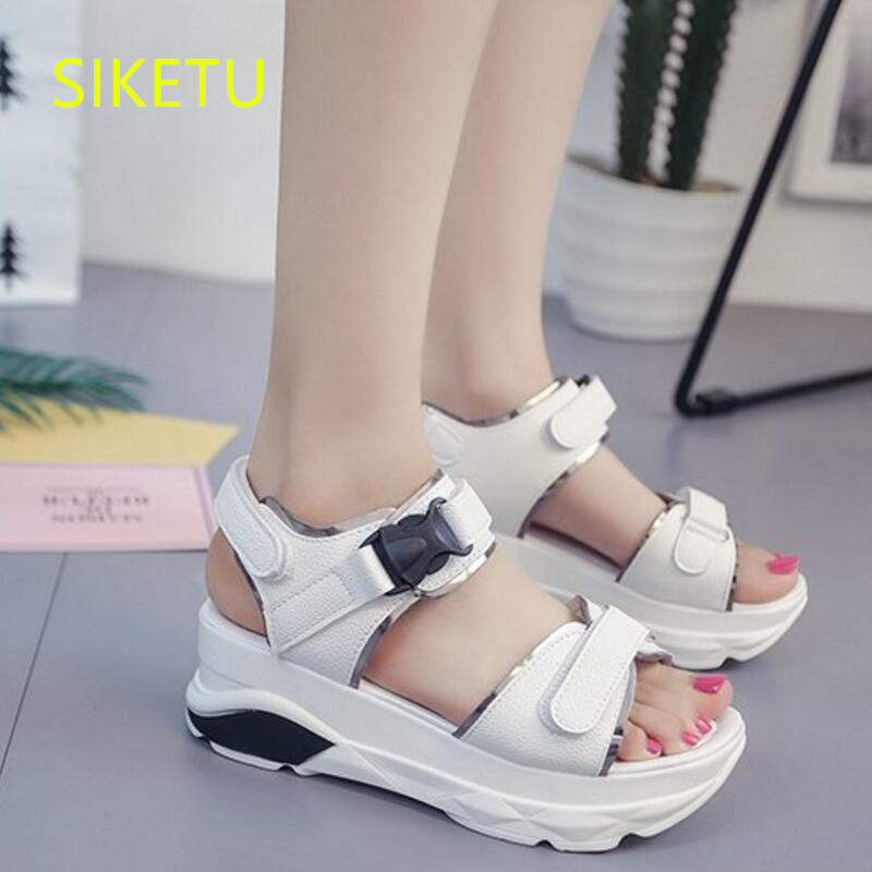 SIKETU Free shipping Summer sandals Fashion casual shoes sex women shoes flip flop Flat shoes Flats l139 Rome flip flop flat