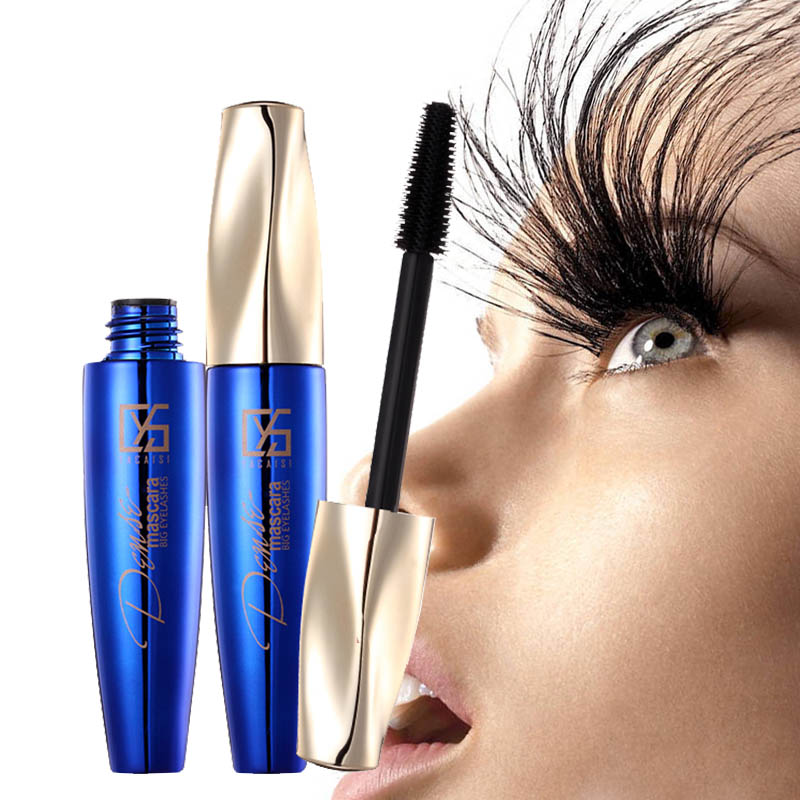maquiagem 4D Rimel Mascara Waterproof Long Lasting Mascara 4d tusz do rzes Maskara for Eyes Makeup Korean Cosmetics Black Color image