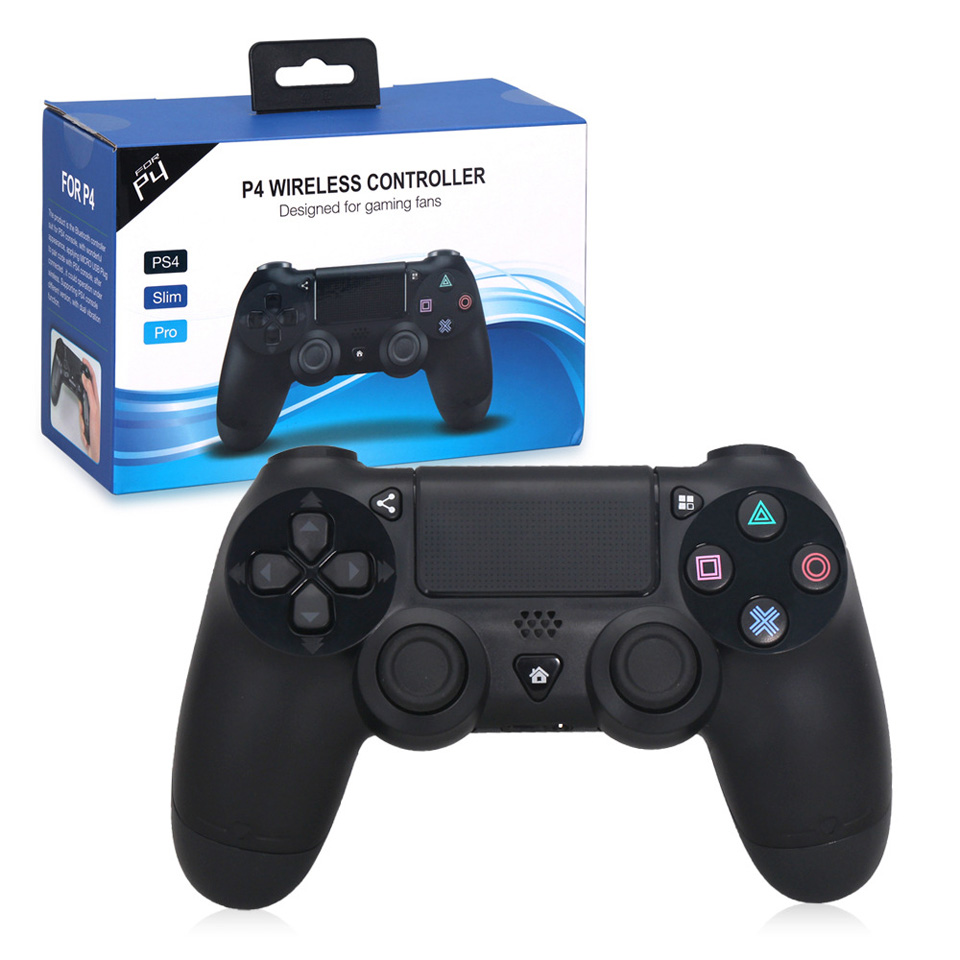 Wireless Bluetooth Game Controller for Sony PS4 / PS4 Slim / PS4 PRO Joystick Gamepads Black Game Controller voground new for sony ps4 bluetooth wireless controller for playstation 4 wireless dual shock vibration joystick gamepads