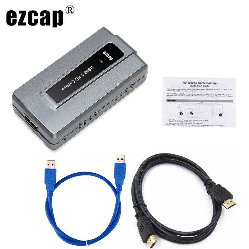 HD 1080P 60 USB 3 0 HDMI Capture Card Recorder for PS3 PS4 Xbox Wii U