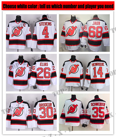 new arrival d13bb 79cb0 Men's New Jersey Devils Hockey Jerseys #30 Martin Brodeur ...