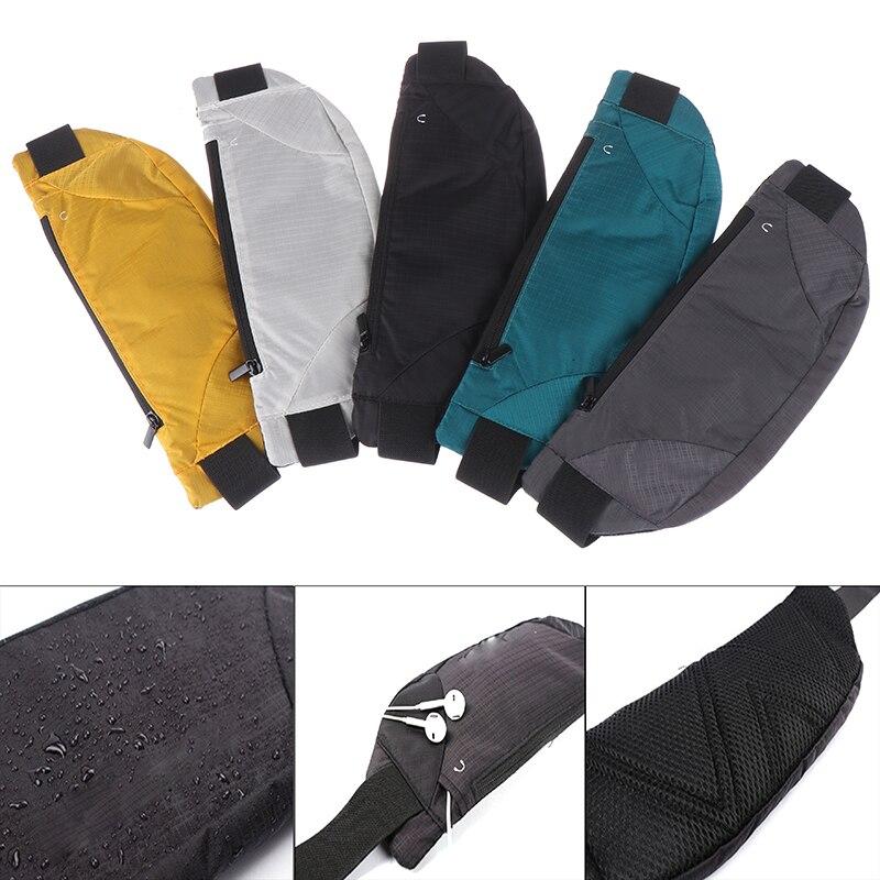 Sport Running Waist Bag Pack Cycling Bag Belt Fanny Waist Pouch Outdoor Travel Racing Hiking Gym Fitness Money Purse Men Women