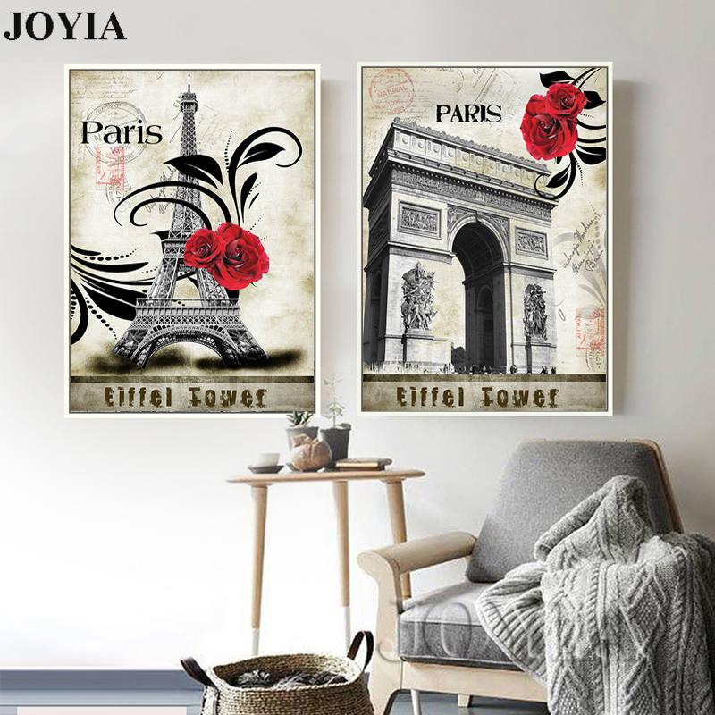 ᗕDecoración para el hogar decorativo de la vendimia pinturas de ...