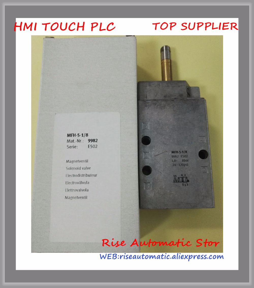 New and Original MFH-5-1/8 9982 Solenoid Valve MFH-5-1 8 9982 mfh 5 1 4 6211 pneumatic solenoid valve mfh 5 1 4 series 6211 without coil