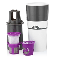 Portable Drip Coffee Maker Travel Mug Water Bottle Brewer with Capsule Cup Filter