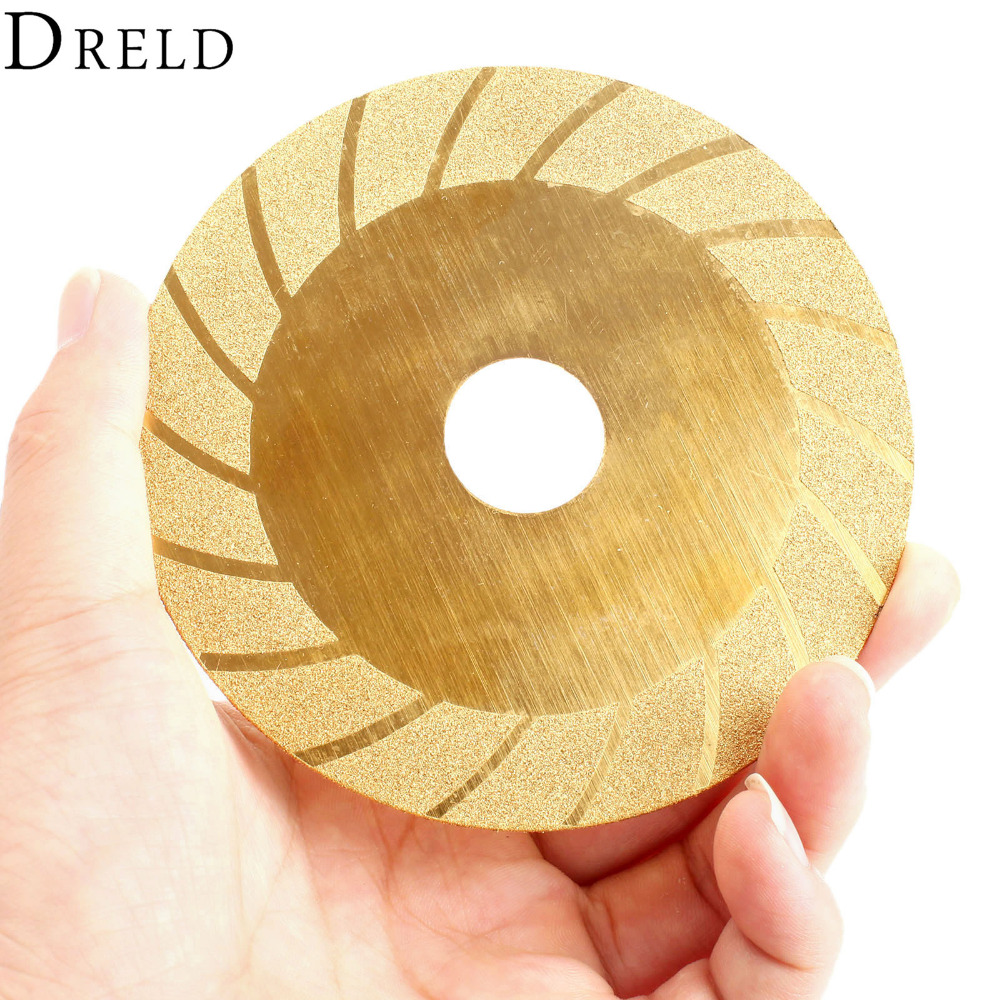 100mm Dremel Accessories Diamond Cutting Disc Titanium Coated Mini Circular Saw Blade Grinding Wheel For Rotary Tool Power Tool