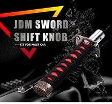 KYLIN STORE --- Universal JDM Samurai Sword Shift Knob Shifter Katana Metal Weighted Sport With 12mm Hole