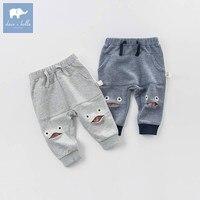 DB7185 Dave Bella Spring Infant Baby Boys Full Length Fashion Pants Children Toddler Pants Boys Trousers