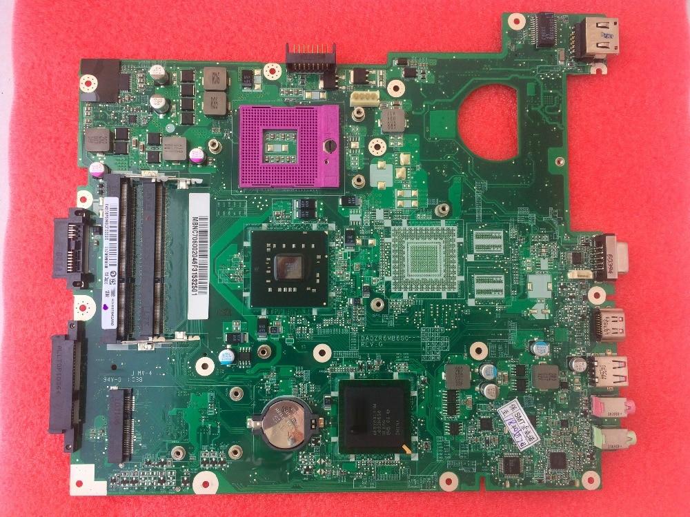 Free Shipping New E728 MBNC706002 DA0ZR6MB6G0 REV G Motherboard For ACER E728 Laptop pc все цены