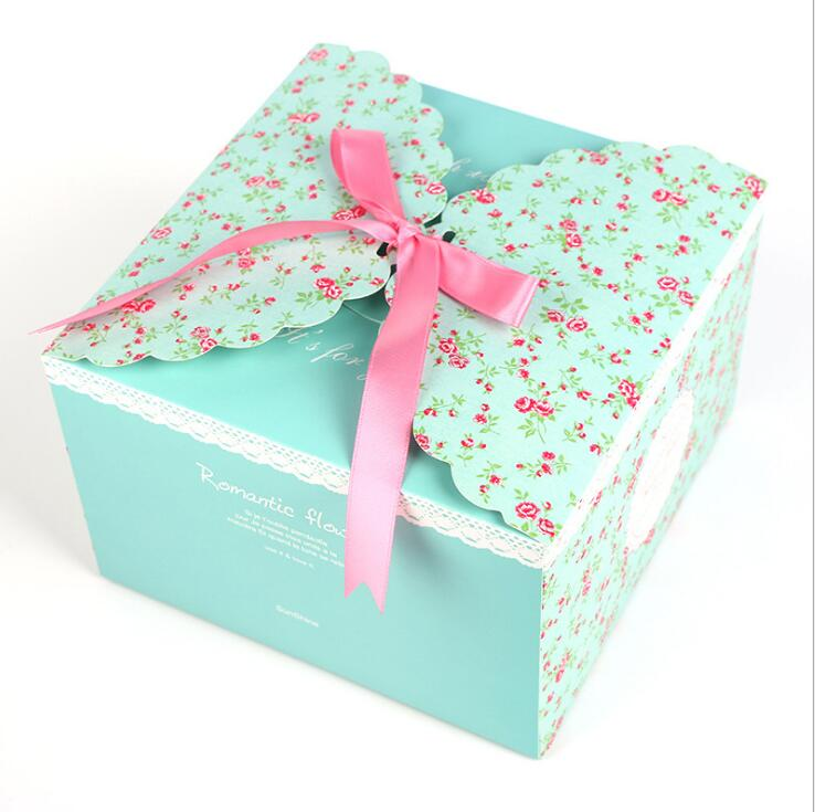 10/20 pçs fontes de festa moda arco caixas de presente doce casamento festa de aniversário bolo caixa de presente de doces