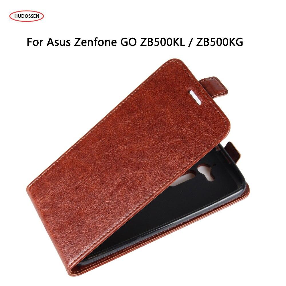 HUDOSSEN For Asus Zenfone GO ZB500KL Case PU Leather Phone