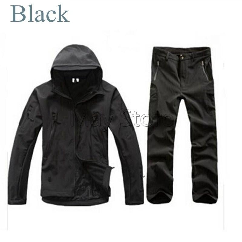 Tactical Winter TAD Gear V 4.0 Combat Uniform Hoodie Soft Shell SharkSkin Waterproof Fleece Coat Jacket Pants Hoody Clothing