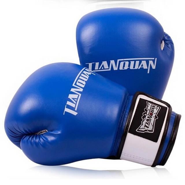 2c9144476 placeholder 2015 Preto Vermelho Azul Wushu Taekwondo Luta Luvas de Boxe  Luvas Mulheres Homens WTF Sanda MMA