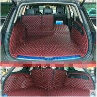 Высокое качество! Специальные материалы ствола для Volkswagen Touareg 2017 2011 прочные водонепроницаемые ботинки ковры для Touareg 2015, Бесплатная доставк