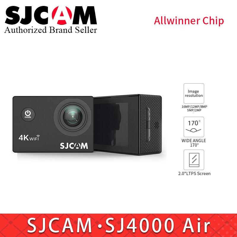 SJCAM SJ4000AIR Action Camera Full HD 4 k WIFI Sport DV 2.0 pouce Écran Soutien 128g Carte Mémoire mini caméscope vs EKEN H9 Xiaomi