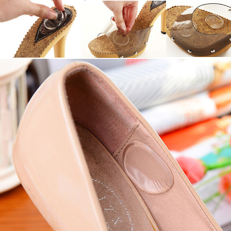 9 pair/pack Gel Silicone Foot Mini Round Insoles Shoes Care Cushion Pad massage pad feet  Insole P22 expfoot orthotic arch support shoe pad orthopedic insoles pu insoles for shoes breathable foot pads massage sport insole 045