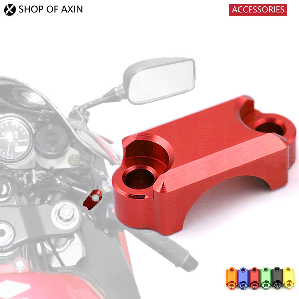 Motorcycle CNC Brake Master Cylinder Clamp Handlebar Bar Clamp Cover For HONDA CBR 600R 1000RR 954 XR 400 650 CB600F CRF 250 450 выключатель 2 клавишный наружный дерево 10а quteo