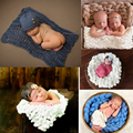 5 Styles Photo Baby Blankets Wool Fiber Basket Filler Braid Blanket Basket Stuffer Newborn Photography Props Baby Shower Gift