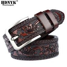 Cinturón de piel auténtica de alta calidad para hombre, cinturón masculino de diseño a la moda, precio de promoción