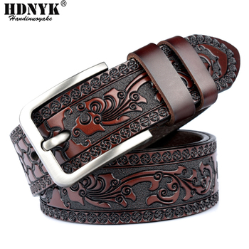 Factory Direct Belt Promotion Price New Fashion Designer High Quality Genuine Leather Belts for Men Assurance