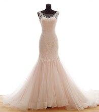 Фотография Romantic Real Photo Wedding Dresses 2017 Hot Floor-Length Draped Vestido De Noiva Vintage Bridal Gown Fashion Dress For Wedding