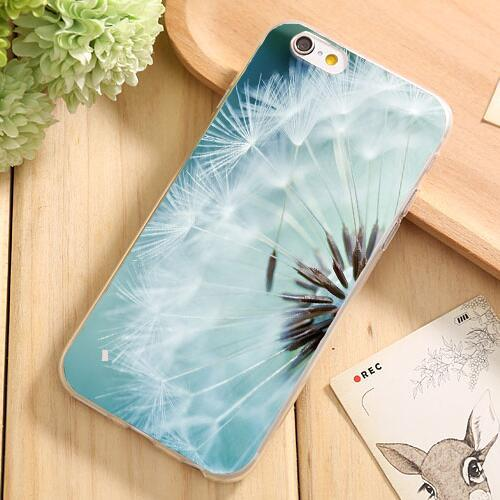 New Fashion Soft Silicon Cases Cover For Apple iPhone 7 7Plus 6 6S 5 5S SE Case Phone Protection Shell Pretty Flowers Painted