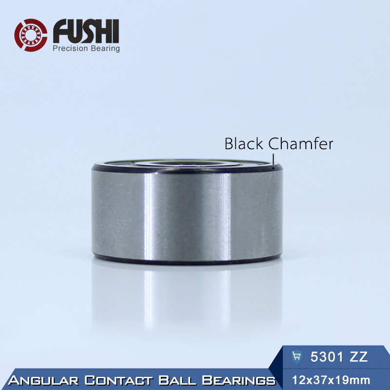 5301 ZZ Bearing 12 x 37 x 19 mm ( 1 PC ) Axial Double Row Angular Contact 5301ZZ 3301 ZZ 3056301 Ball Bearings