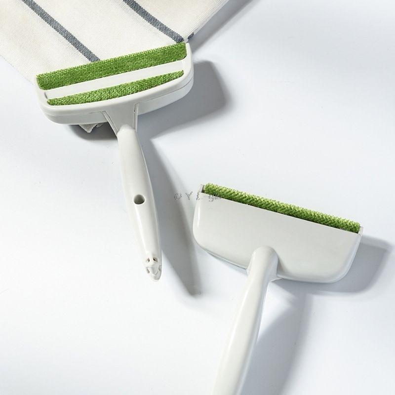 Ropa creativa de doble cabeza mascotas pelusa removedor de pelusa cepillo Manual limpiador mágico hogar sofá cama hueco polvo herramientas de limpieza