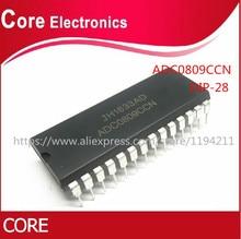 50 قطعة/الوحدة ADC0809CCN ADC0809 DIP28 IC جديد