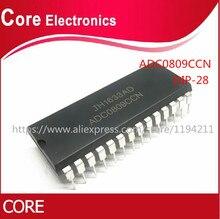 50 pçs/lote ADC0809CCN ADC0809 DIP28 IC novo