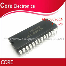 50 teile/los ADC0809CCN ADC0809 DIP28 IC neue