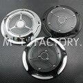 Nova marca CNC Cobertura Derby & Timing Cobre Para Harley Road King Softail Dyna FLHRS FLTFB