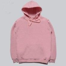 Gute qualität Rosa hot herren hip hop einfarbig hoodies sweatshirt trainingsanzug männer Streetwear winter Pullover männlich hoodie
