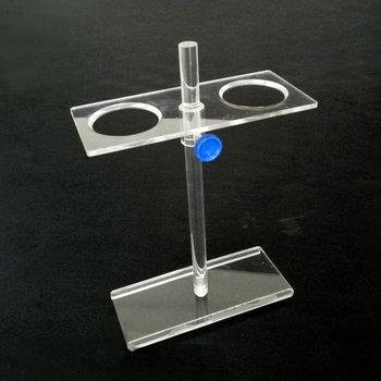 1 sztuk partia Hole Dia 55mm 2 otwory szkło organiczne lejek stojak lejek wsparcie dla stojaków filtr wsparcie dla trójkąt lejki tanie i dobre opinie Funnel stand Organic Glass 2 holes 60mm to 150mm