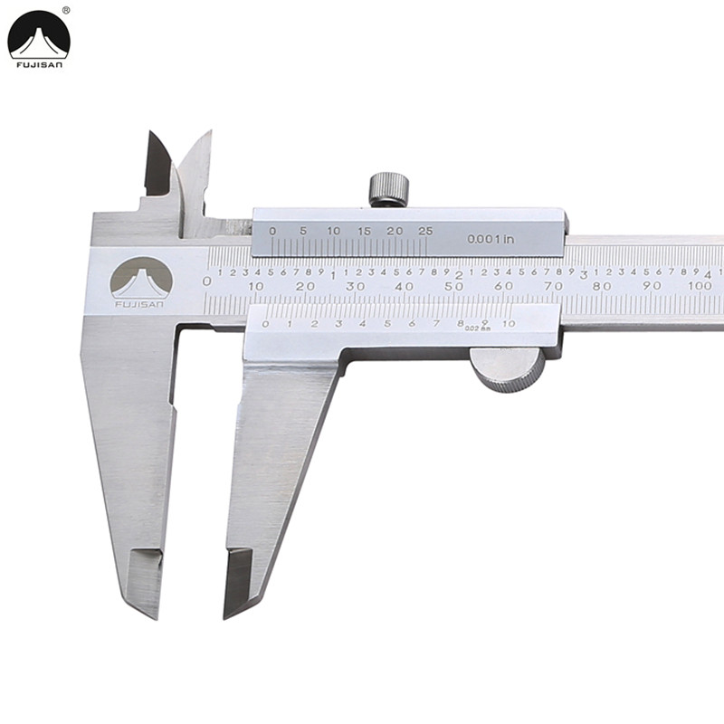 FUJISAN Vernier Caliper 12 0-300mm/0.02 0.001in Gauge Micrometer Beam Callipers Tools Stainless Steel Measuring Tools