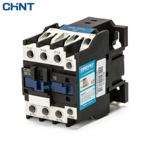 CHINT AC Contactor Motor Starter Relay CJX2-3210 3201 32A LC1 CJX4 220V 380V 32 Security cjx2 3210 ac contactor motor starter relay 50 60hz 3poles 1no 36vac coil voltage ac 32a rated current din rail mount