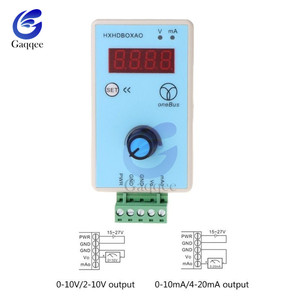 Image 3 - มือถือ 0 10V/2 10V 0 20mA/4 20mA สัญญาณปรับแรงดันไฟฟ้า Analog จำลองแหล่งสัญญาณเอาต์พุต 24V