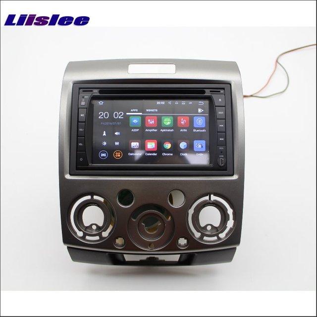 Liislee For Ford Ranger 2007~2012 Car Radio Stereo Android APP NAV NAVI Map Navigation Multimedia System W/O CD DVD Player
