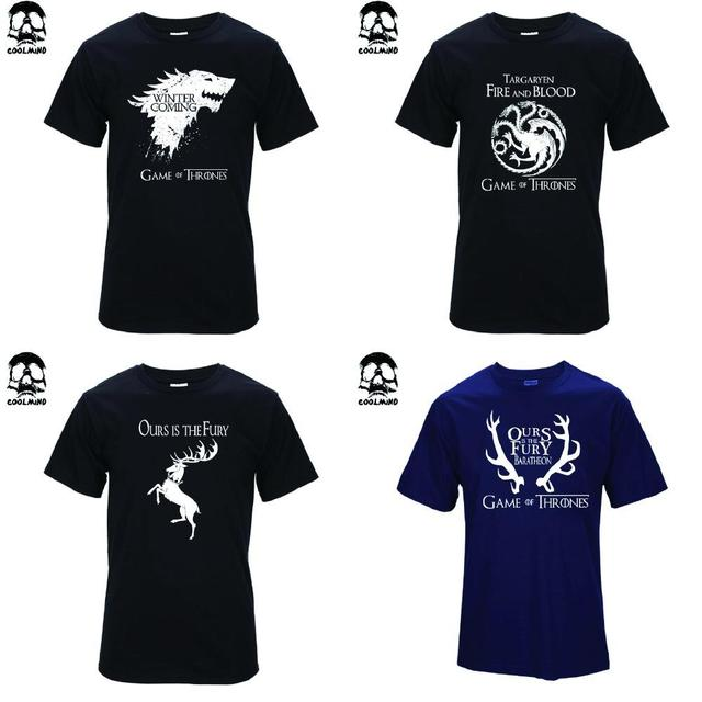 20 style Game of Thrones T-Shirts