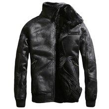 Осенью и Зимой Бархат Мех Кожа Пальто Для Мужчин Урожай Old Fashion Мех Кожаная Куртка и Пальто Известный Брендинг Одежду C234(China (Mainland))