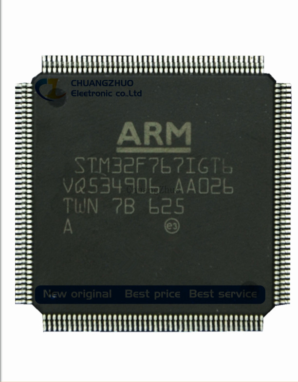 New Original  STM32F767IGT6 STM32F767  MCU 32BIT 1MB FLASH 176LQFP