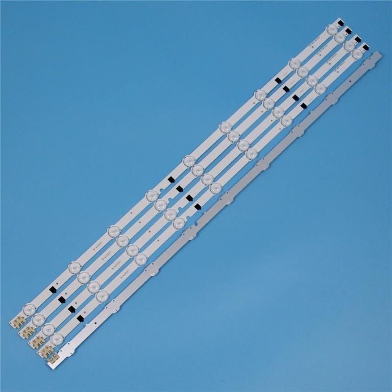 5 piece led bars for samsung ue32f4000aw ue32f5700aw version 03 32 inch tv backlight led array strip light matrix 9 lamps bands