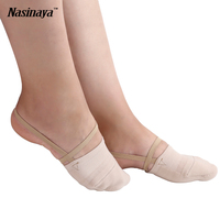Rhythmic Gymnastic Soft Socks Half Shoes Knitted Roupa Ginastica Professional Belly Sole Dance Shoes Modern Dancing