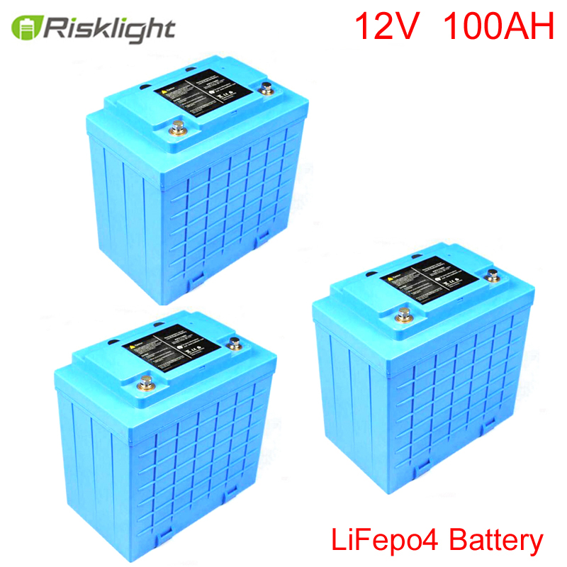 12.8V100Ah Rechargeable LiFePO4/Lithium ion Battery; For Solar / Energy / Mobility / Scooter / Bike / Carts / Lead-acid Replaced 36v 4400mah 4 4ah dynamic li ion lithium ion rechargeable battery for self balance electric scooters power bank